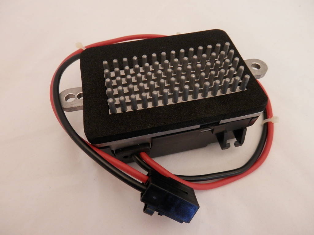 Blower Motor Resistor, With Automatic Temperature Control, Does Not Include Wiring  Harness