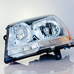 Headlamp Assy Left  Driver Side (Chrome Accent)