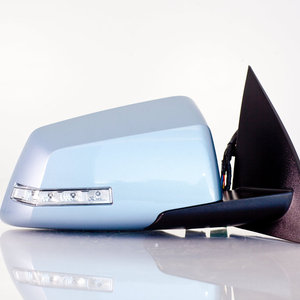 Side View Mirror Right Passenger Side, Power, Power Folding, with Heated Glass, with Memory, with Turn Signal, without Auto Dim, Painted