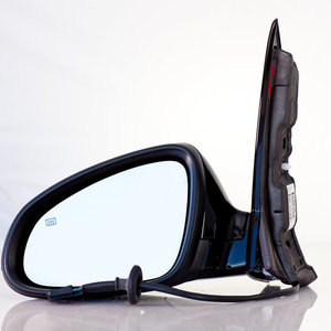 MIrror, Left Driver Side, Power, With Heat, Optional DWE