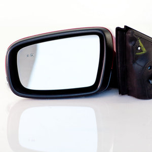 Mirror, Left Driver Side, Power, With Signal, With Side Obstacle Detection, Optional UKC