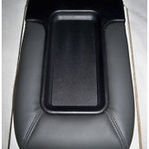 Center Console Lid Kit Front Row Split Bench Dark Gray with Installation Instructions