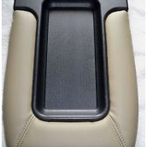 Center Console Lid Kit Front Row Split Bench Tan with Installation Instructions